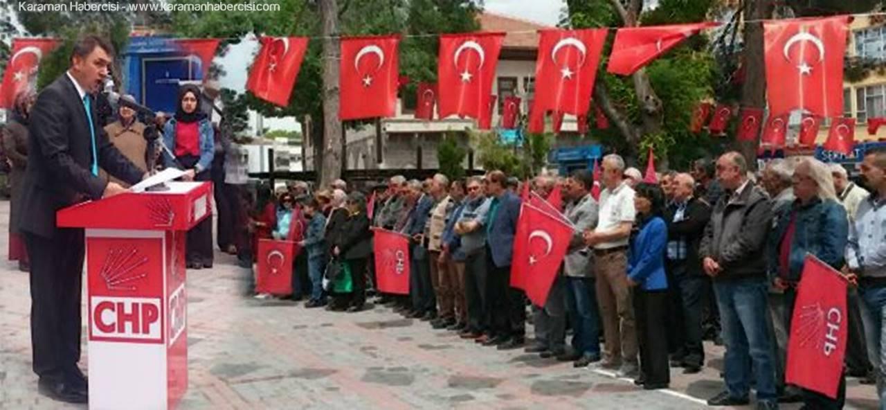 CHP Karaman İl Başkanlığı'ndan 19 Mayıs Kutlaması