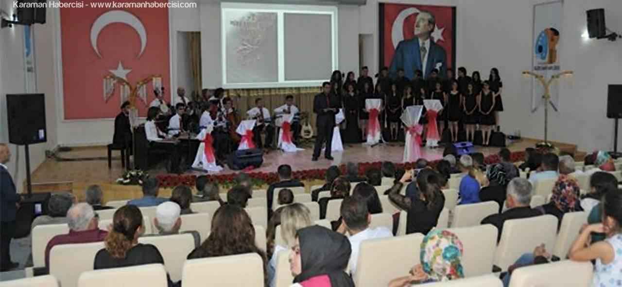 Güzel Sanatlar Lisesi Korosundan Türk Sanat Müziği Ziyafeti
