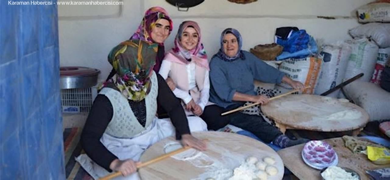 KMÜ Siyaset Bilimi Öğrencileri Çoğlu Köyü'nü Ziyaret Etti