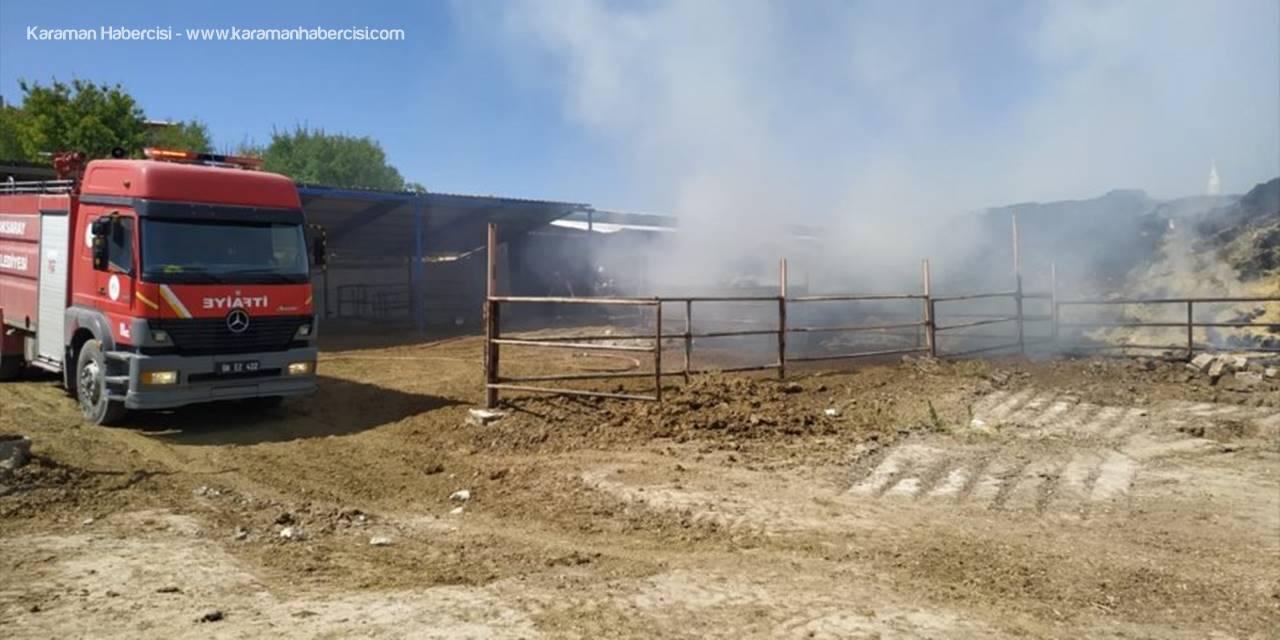 Aksaray'da 5 Bin Balya Saman Yandı