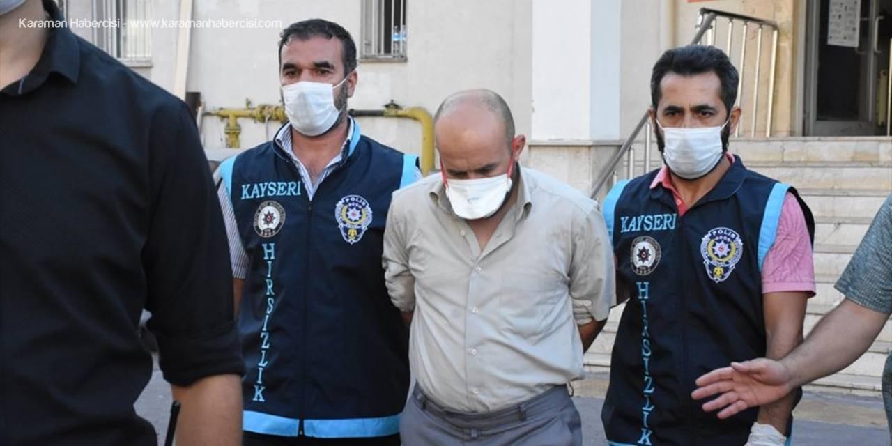 Kayseri'de Kuyumcuyu Soyan Kişi Yakalandı