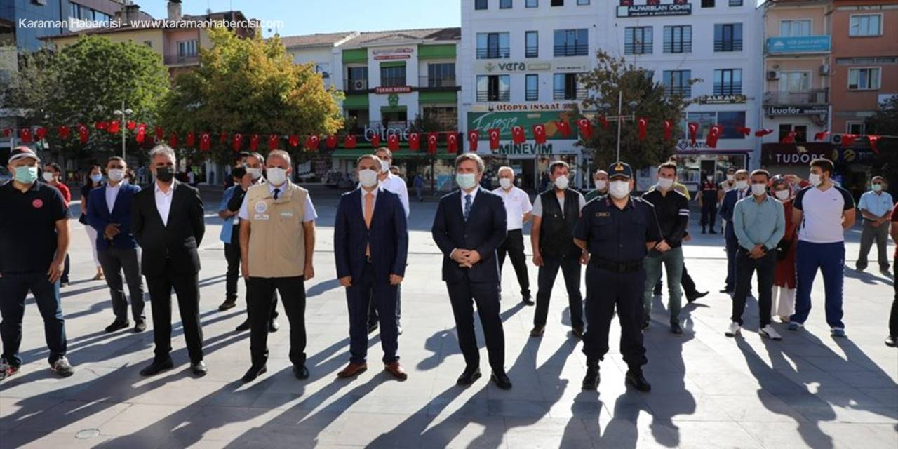 """Aksaray'da Tedbirlere Uyduğu Belirlenen 19 İş Yerine """"Kovid-19 Güvenli Alan Sertifikası"""""""