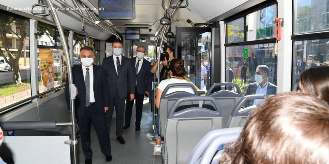Antalya'da Kovid-19 Tedbirleri Denetimi