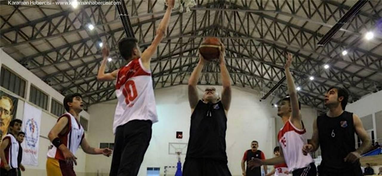 Karaman'da Basketbol Heyecanı Devam Ediyor