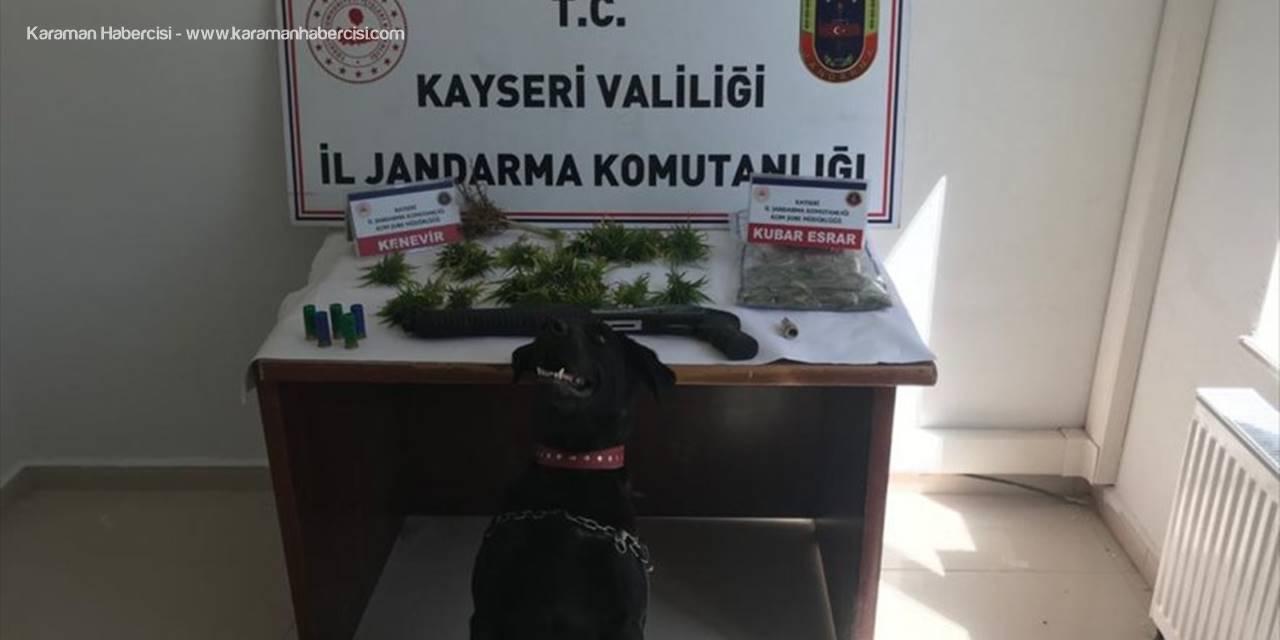 Kayseri'de Uyuşturucu Operasyonunda 2 Zanlı Gözaltına Alındı