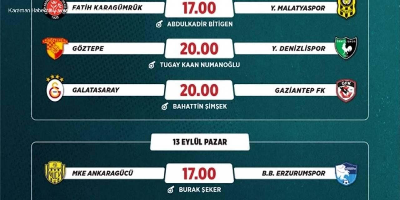 Süper Lig ve TFF 1. Lig Haftanın Maçlarının Programları