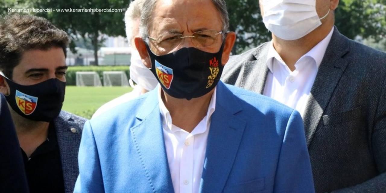 Ak Parti Genel Başkan Yardımcısı Özhaseki'den Kayserispor'a Ziyaret