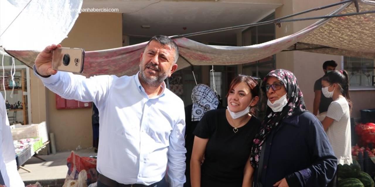 CHP Genel Başkan Yardımcısı Ağbaba'dan Ermenek'te Maden İşçilerine Destek