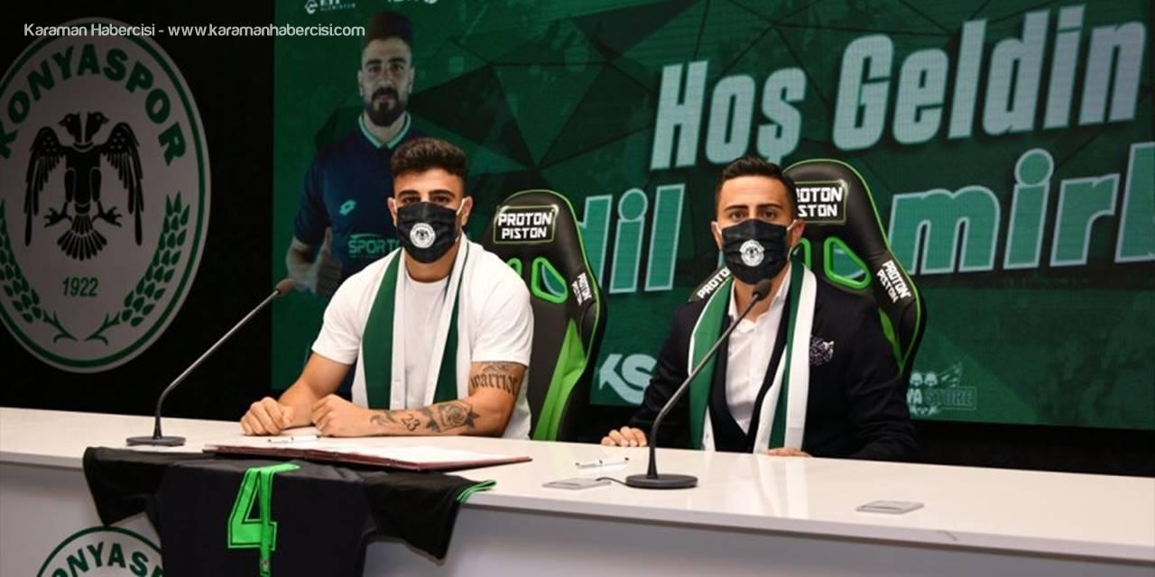 Konyaspor, Stoper Adil Demirbağ'ı Transfer Etti