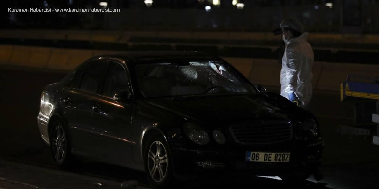 Ankara'da Otomobilin Çarptığı Yaya Hayatını Kaybetti