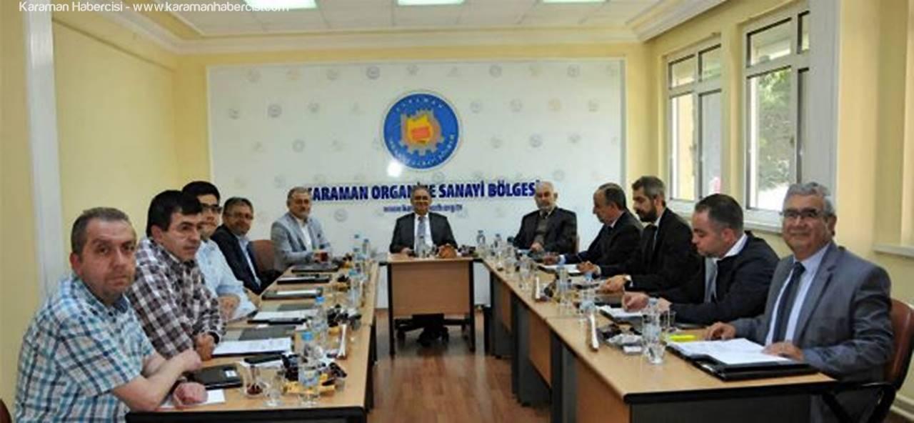 Karaman OSB Müteşebbis Heyeti Toplandı