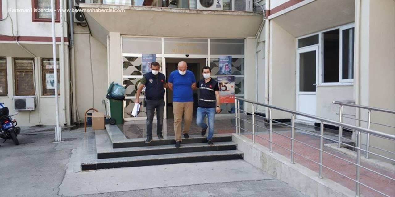 Mersin'de Dolandırıcılık Ve Hırsızlık Yaptığı İleri Sürülen Zanlı Tutuklandı