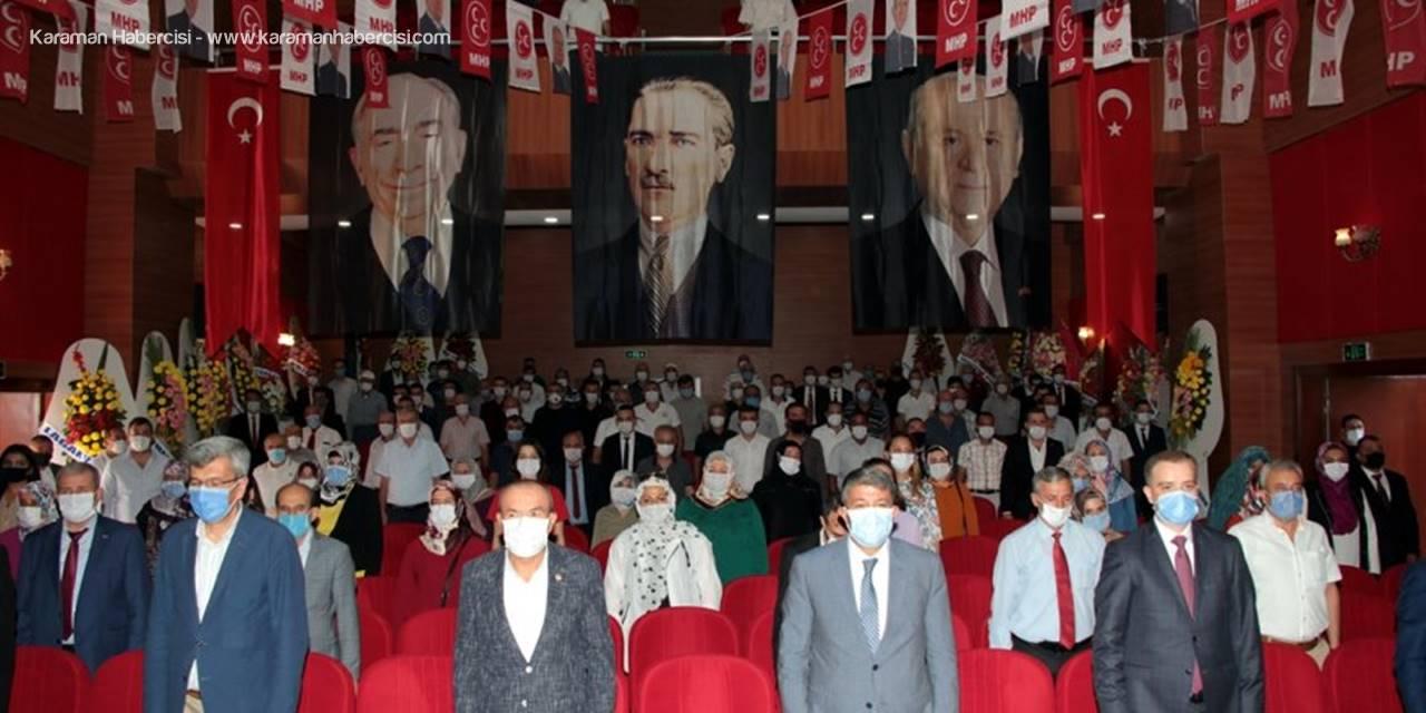 MHP Beypazarı İlçe Başkanı Erdoğan Orhan, Güven Tazeledi