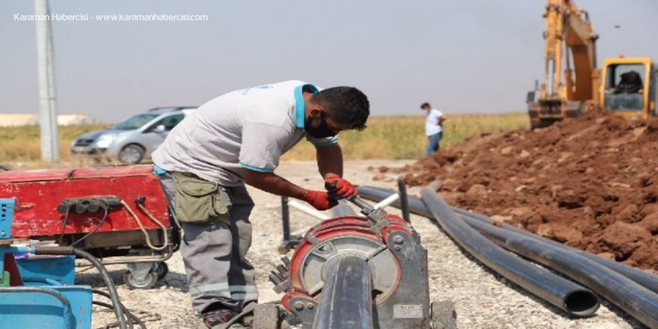 Aksaray Belediyesi İçme Suyu Şebeke Hat Çalışmaları Devam Ediyor