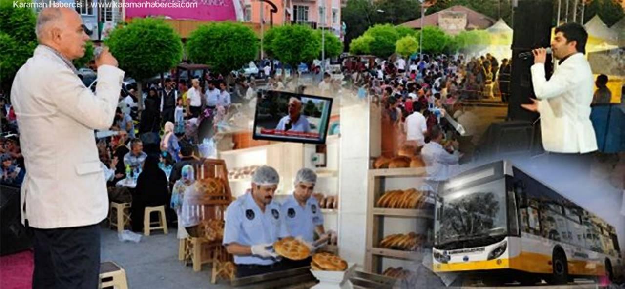 Karaman, Ramazan'a Hazır