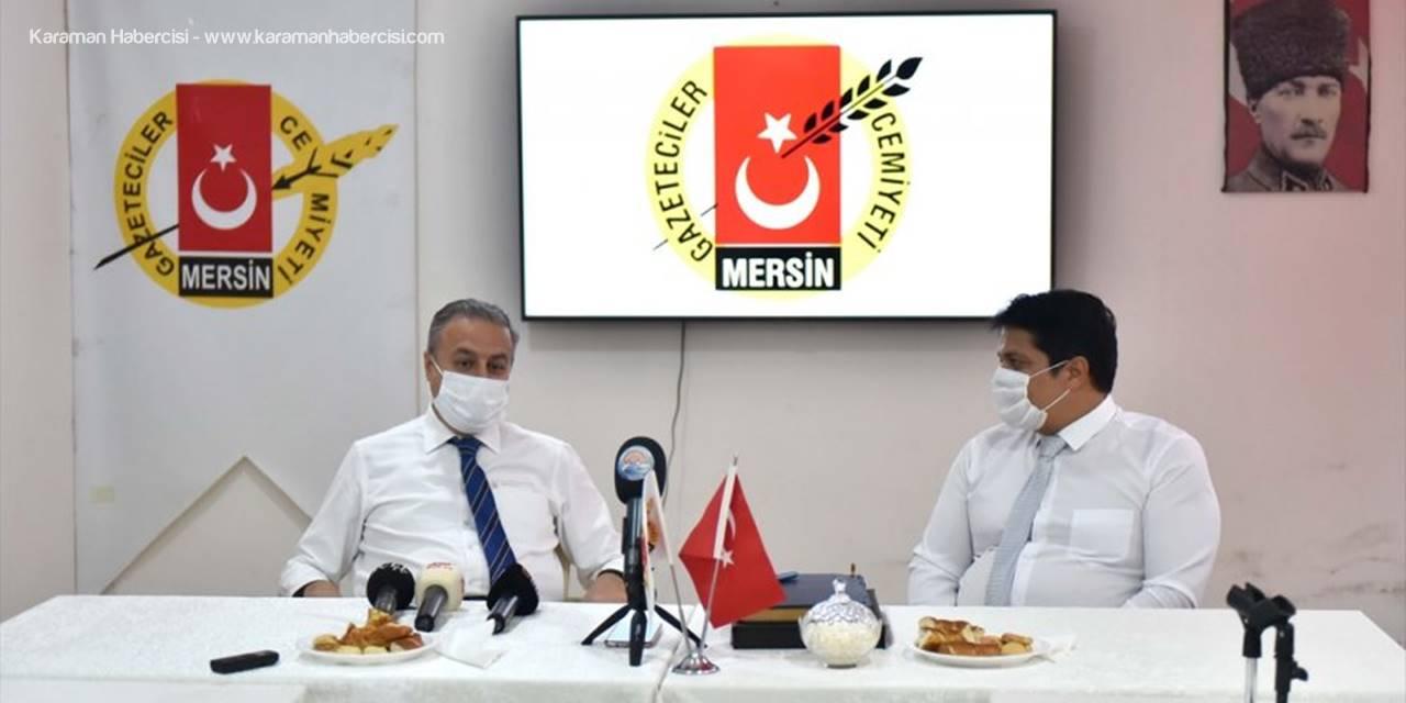 Mersin Valisi Ali İhsan Su'dan Kovid-19 Değerlendirmesi