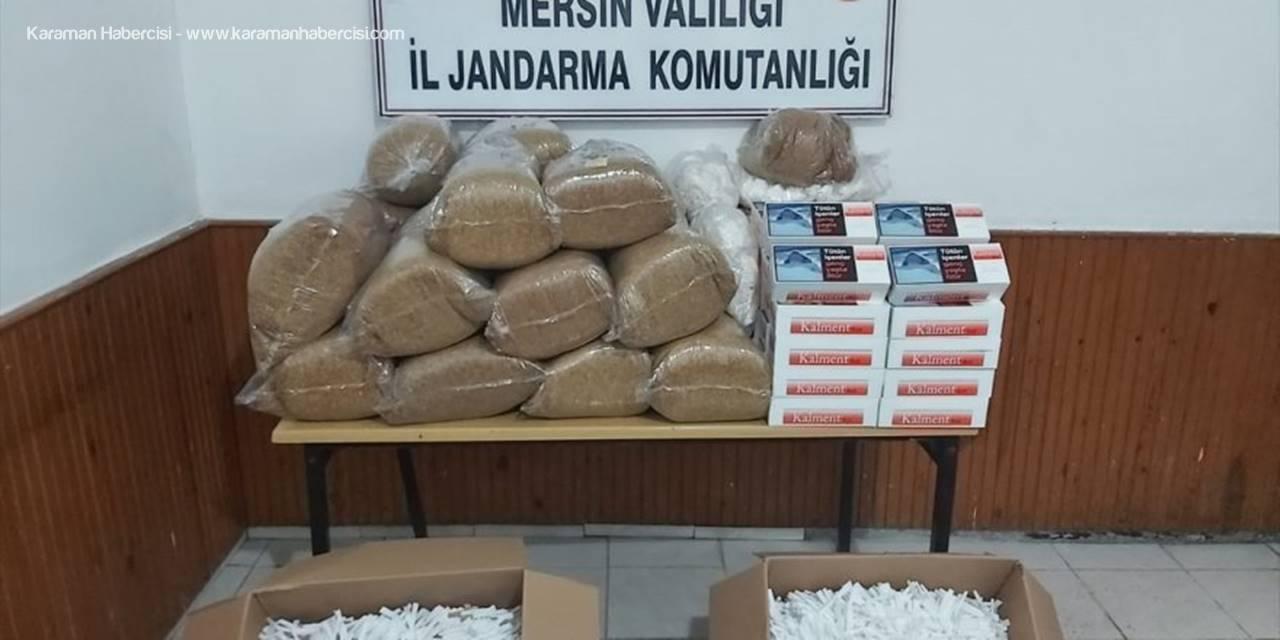 Mersin'de 102,5 Kilogram Kaçak Tütün Ele Geçirildi