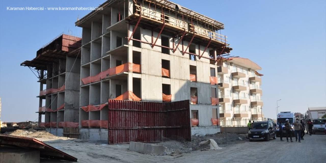 Antalya'da İnşaattan Düşen İşçi Öldü