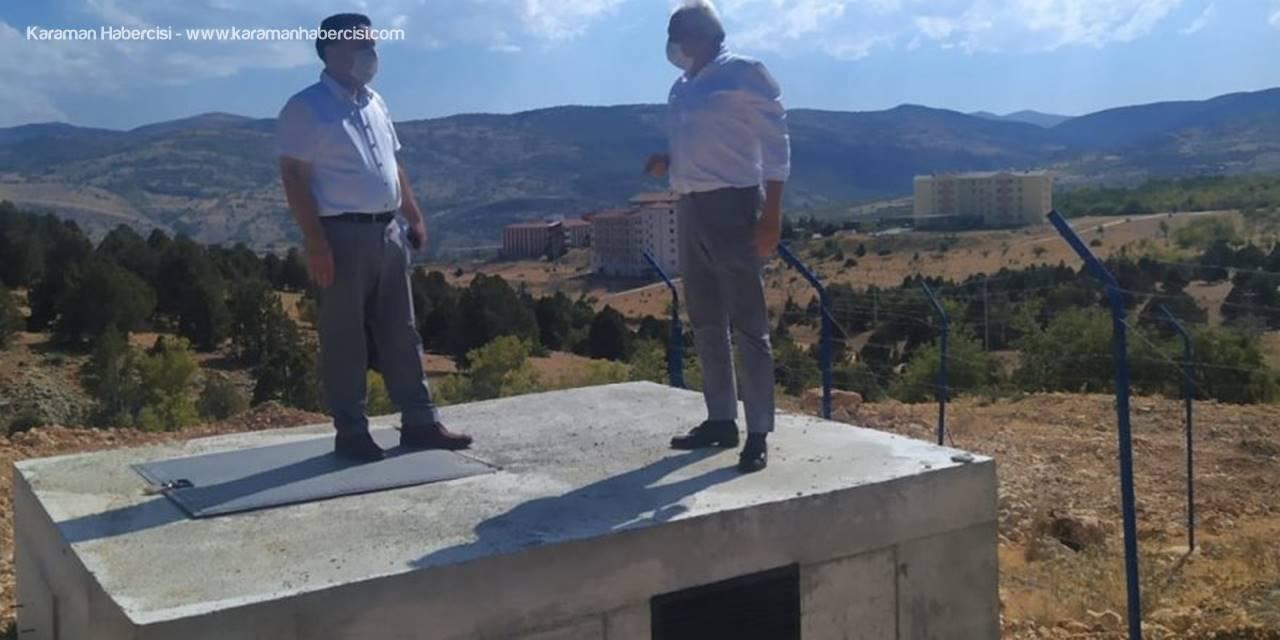 Bozkır'da Musluklardan Yayla Memba Suyu Akmaya Başladı