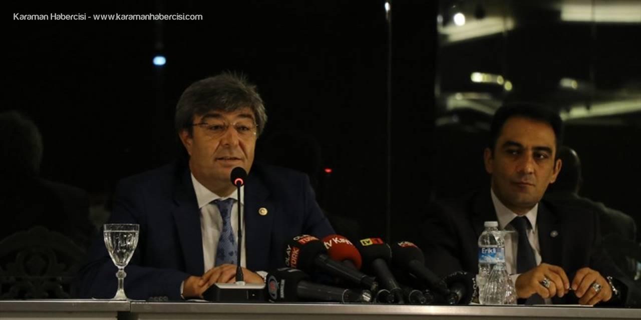 İyi Parti Kayseri Milletvekili Dursun Ataş, Gazetecilerle Bir Araya Geldi