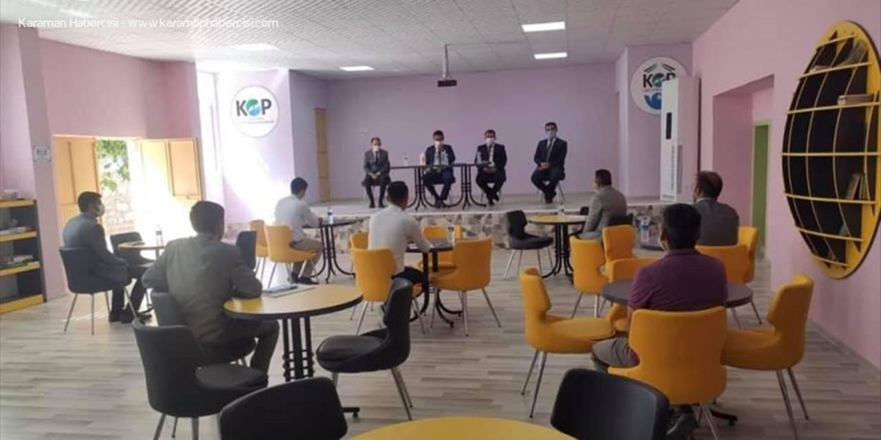 Derebucak'ta Yeni Eğitim Yılı Toplantısı
