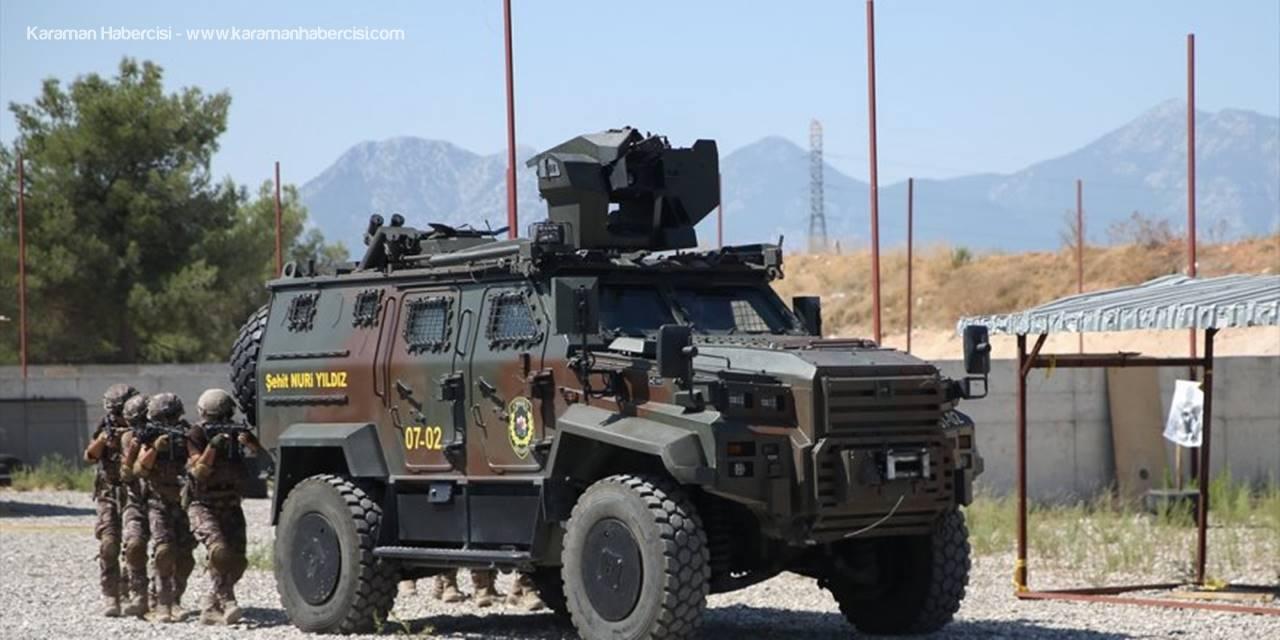 Antalya'da PÖH Timine İki Zırhlı Takviye