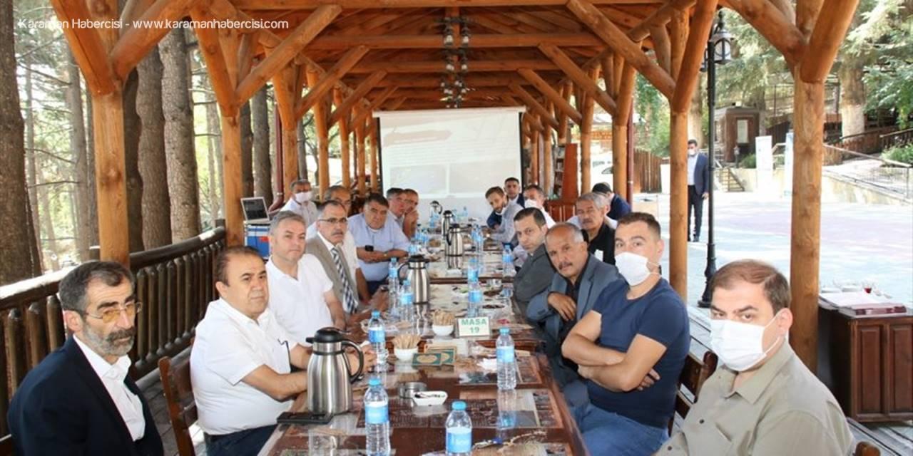 Milletvekili Erdem Ve Başkan Akkaya, Akşehir'de Oda Başkanlarıyla Toplantı Yaptı