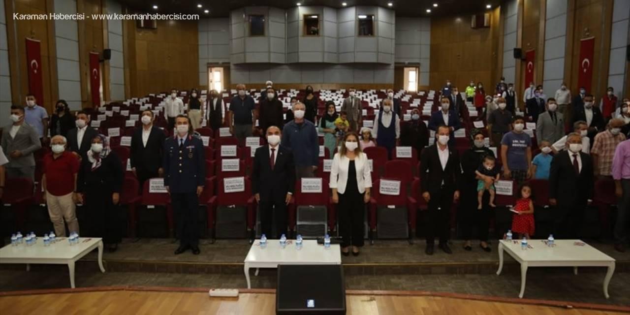 """Kayseri'de """"Devlet Övünç Madalyası Ve Beratı Tevcih Töreni"""" Düzenlendi"""