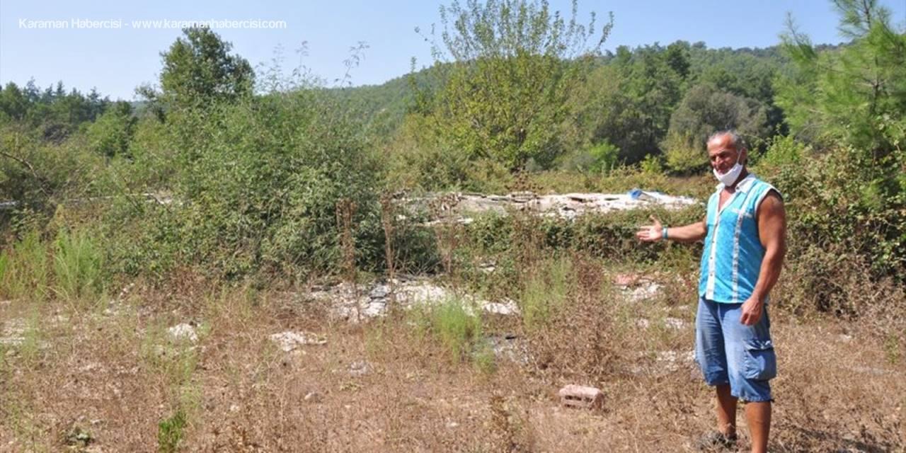 Antalya'da Hırsızlar Evi Çaldılar
