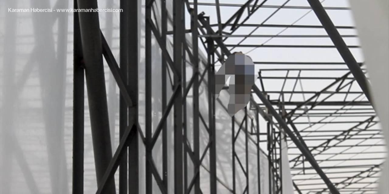 Antalya'da Elektrik Akımına Kapılan Kişi Öldü