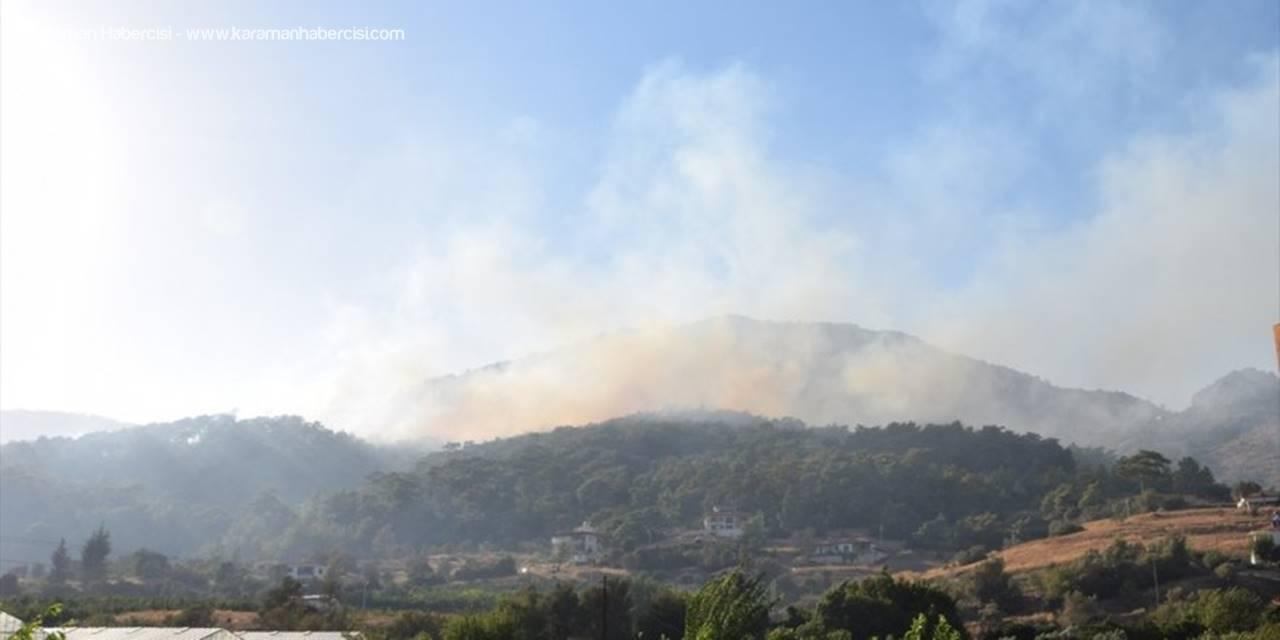 Antalya'da Çıkan Orman Yangınında Son Durum