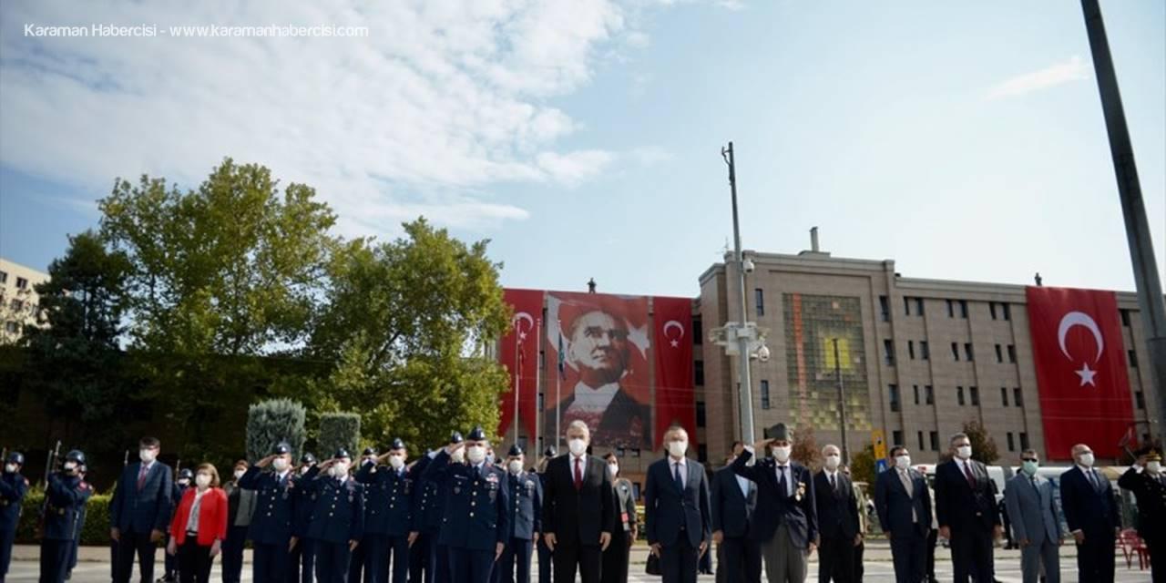Bursa Ve Çevre İllerde 19 Eylül Gaziler Günü Dolayısıyla Törenler Düzenlendi