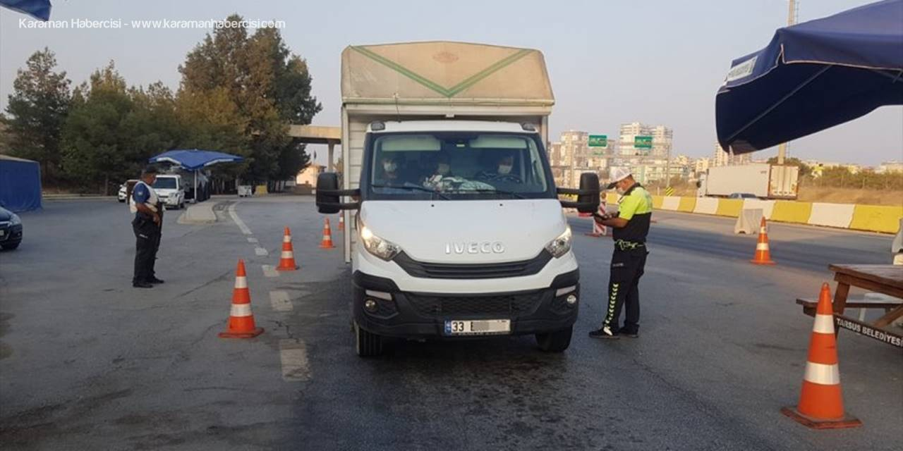 Mersin'de Asayiş Denetimlerinde Aranan 87 Kişi Yakalandı