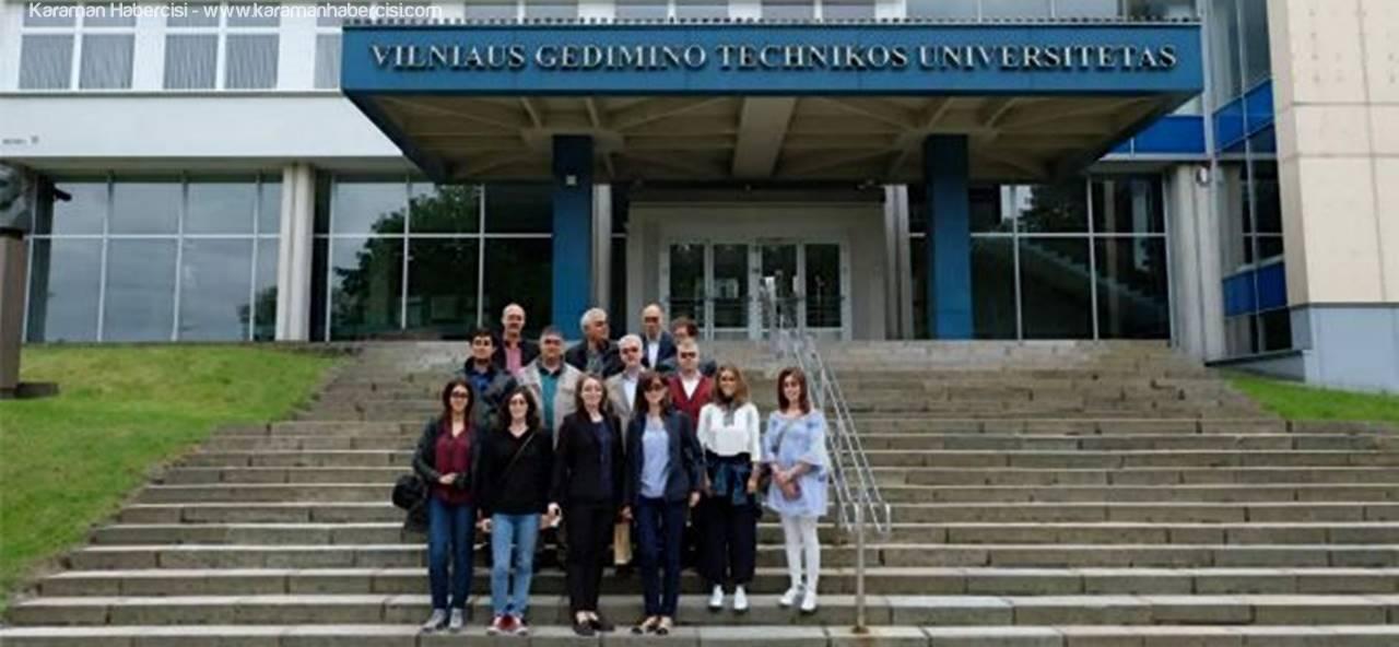 Karaman Milli Eğitim Müdürlüğü Avrupa'da