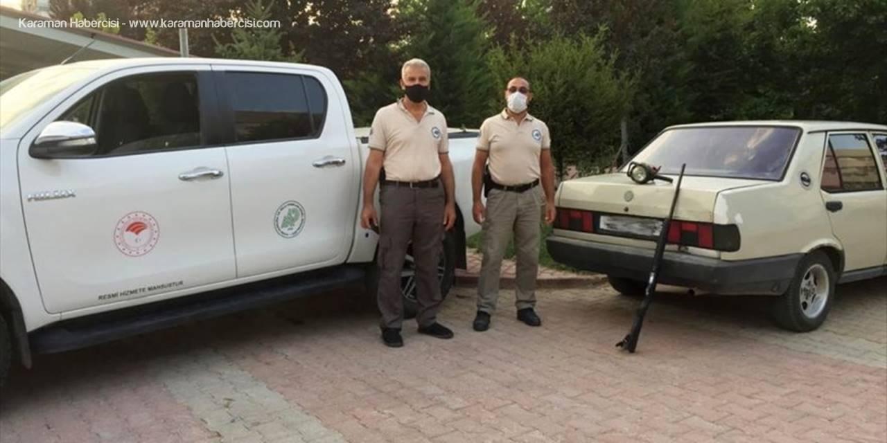 Konya'da Far Işığıyla Kara Avcılığına 11 Bin Lira Ceza