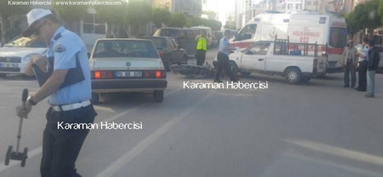 Karaman'da Motosiklet Kazalarında Acı Bilanço