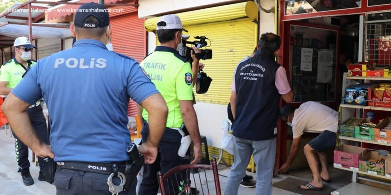 """Antalya'da """"Güvenli Eğitim"""" Denetimi"""