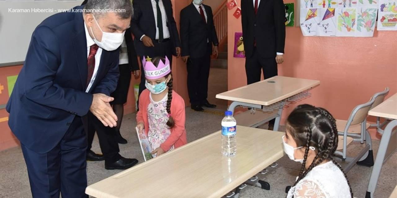 Karaman Valisi Işık Okulları Ziyaret Etti