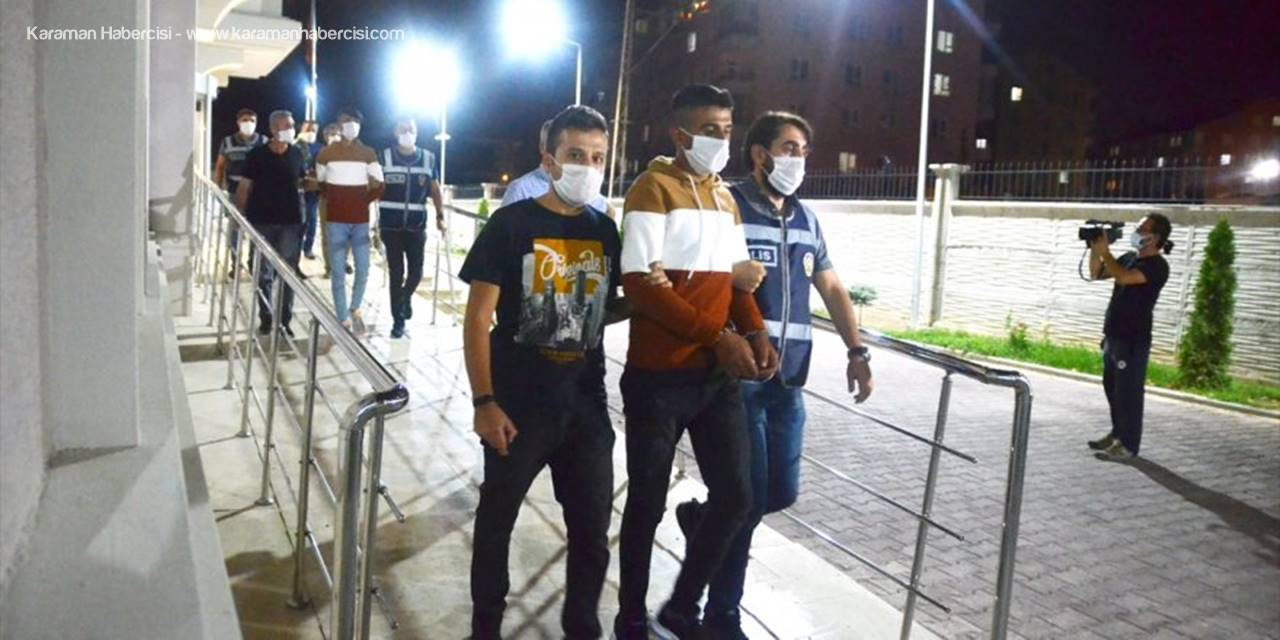 Konya'da Bir Haftada 18 İş Yerinden Hırsızlık Yaptığı İleri Sürülen 6 Zanlı Yakalandı
