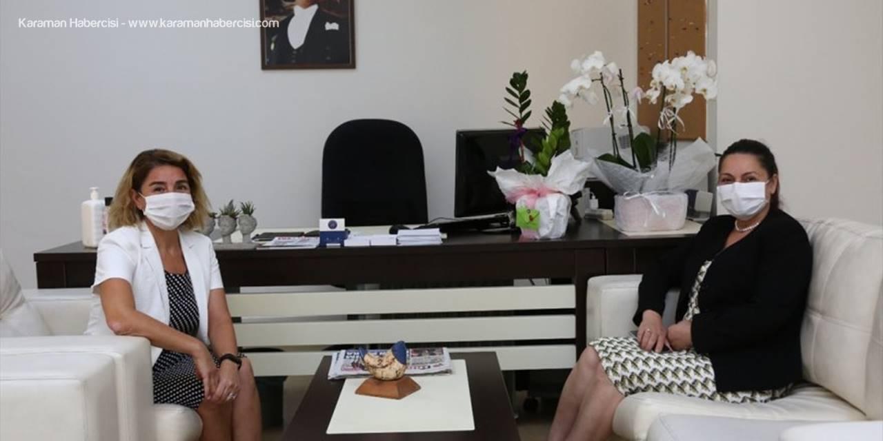 Bölge Müdürü Diler'den, Akdeniz Üniversitesi Basın Ve Halkla İlişkiler Müdürü Aksoy'a Ziyaret