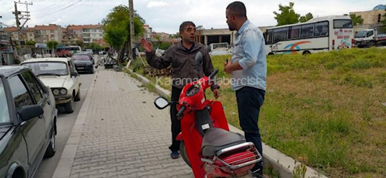 Motosiklet Hırsızları Bu Sefer Sert Kayaya Çarptı