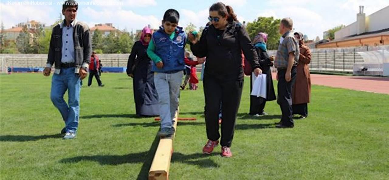 Karaman'da Otizmli Çocuklar Yaşama Sporla Tutunuyor