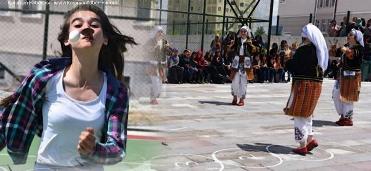 Nefise Sultan Meslek Lisesi'nde Bahar Şenliği