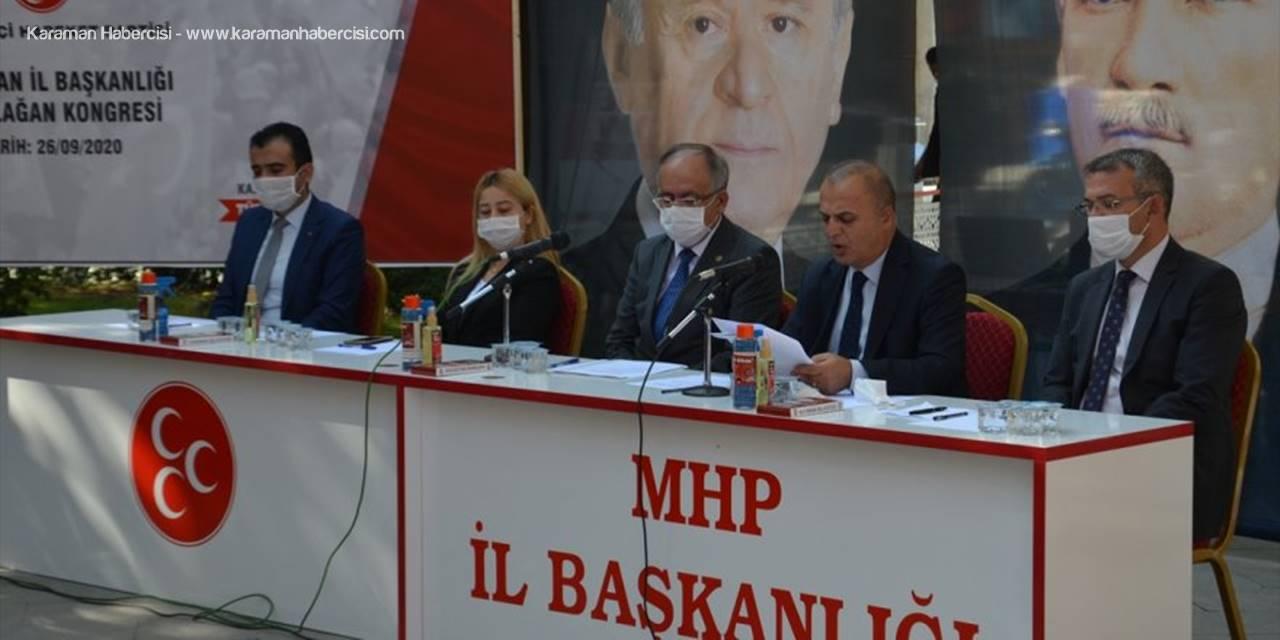MHP Genel Başkan Yardımcısı Kalaycı Partisinin Karaman İl Başkanlığı Kongresi'nde Konuştu