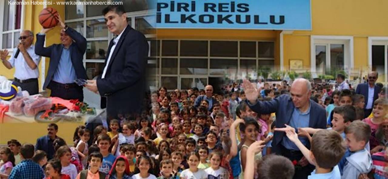 Karaman'da Atık Pil Toplama Yarışması'nda Okullara Ödülleri Verildi