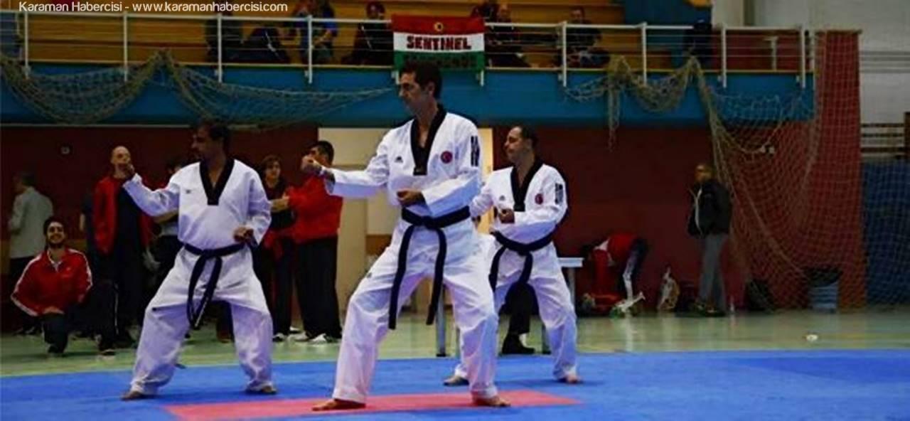 Türkiye'yi Avrupa Şampiyonasında, Karamanlı Taekwondocu Temsil Edecek