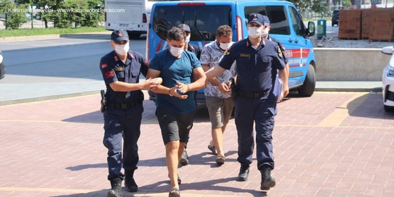 Antalya'da Kablo Hırsızlığı İddiasıyla 2 Zanlı Tutuklandı