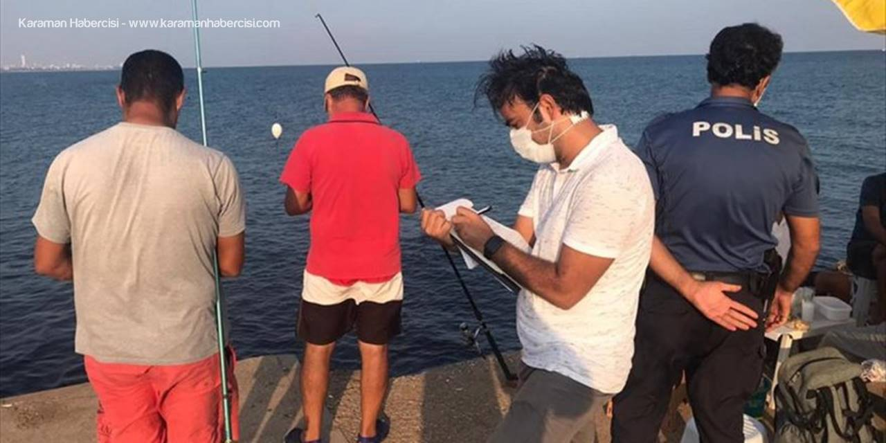 Mersin'de Usulsüz Balık Avına 11 Bin Lira Ceza