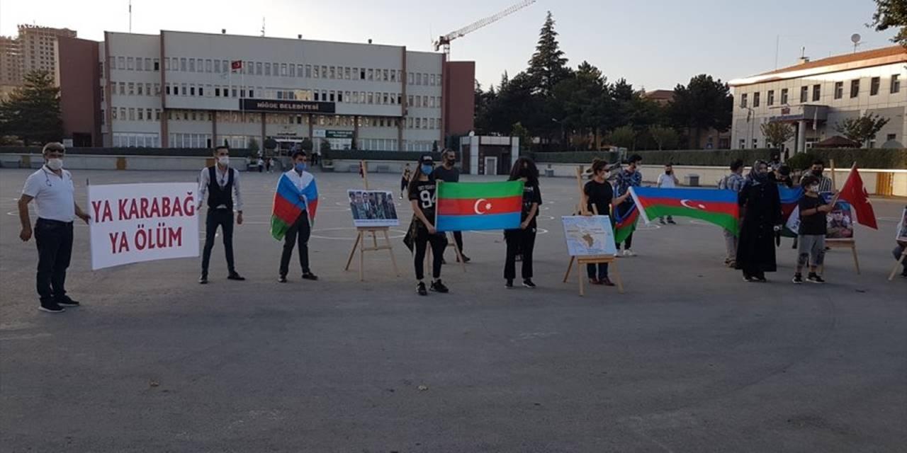 Niğde'de Ermenistan'ın Azerbaycan'a Saldırısı Kınandı