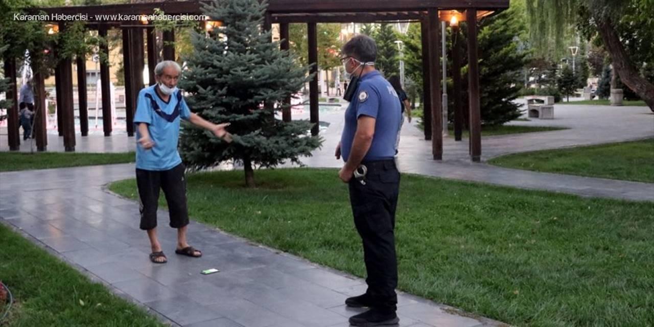 Kayseri'de Karantinayı İhlal Eden Kişi Polis Denetiminde Yakalandı